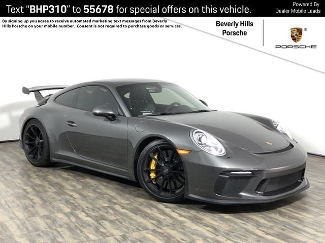 Certified Pre-Owned 2018 Porsche GT3
