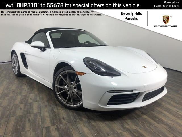 Certified Pre-Owned 2017 Porsche 718 Boxster