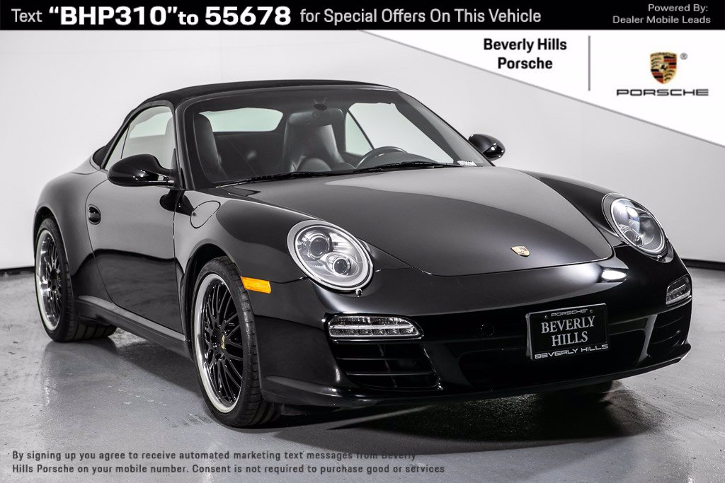 Pre-Owned 2012 Porsche 911 Black Edition