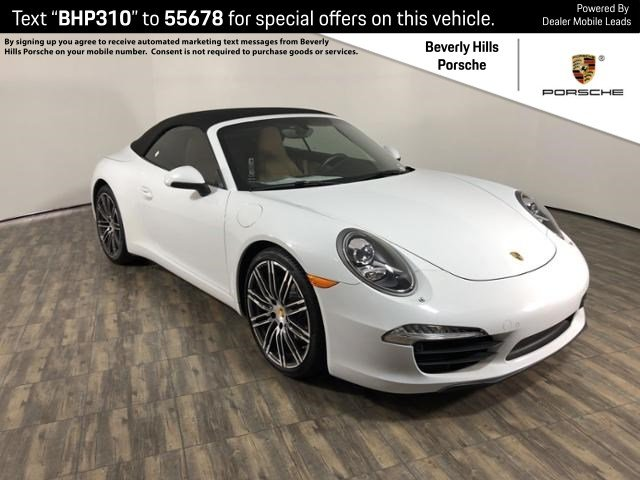 Certified Pre Owned 2016 Porsche 911 Carrera
