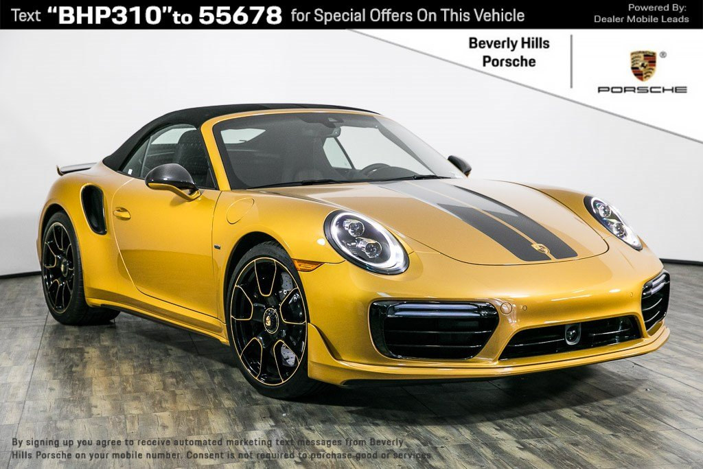 Pre-Owned 2019 Porsche 911 Turbo S Cab Exclusive Series