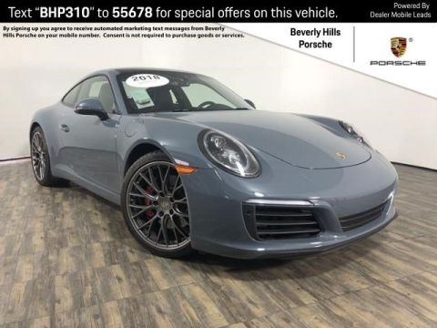 Certified Pre-Owned 2018 Porsche 911 S