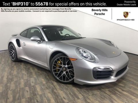 Pre-Owned 2014 Porsche 911 Turbo S Coupe