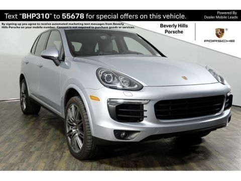 New 2017 Porsche Cayenne Platinum Edition